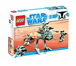 【最大1200円オフ限定クーポン配布中1月11日(金)09:59迄】レゴ (LEGO) スター・ウォーズ クローン・ウォーカー バトル・パック 8014