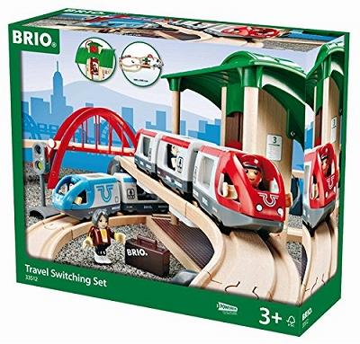 BRIO トラベルレールセット 33512