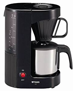 タイガー コーヒーメーカー カフェブラック 6杯用 ACX-S060-KQ
