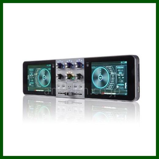多機能ポータブルDJシステム MONSTER GODJ Portable, Stand-Alone DJ System and Production Studio
