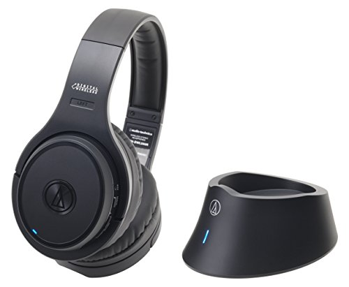 5の倍数日はカードエントリーで5倍/audio-technica 密閉型ワイヤレスヘッドホンシステム ブラック ATH-DWL500 BK