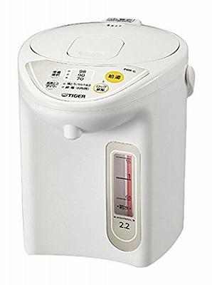 タイガー マイコン電気ポット 2.2L アーバンホワイト PDR-G220-WU