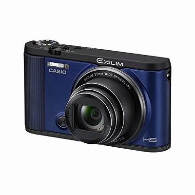 オートトランスファー機能 CASIO 自分撮りチルト液晶 EX-ZR1600BE Wi-Fi/Bluetooth搭載 デジタルカメラ ブルー EXILIM