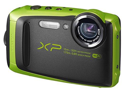 5の倍数日はカードエントリーで5倍/FUJIFILM 富士フィルム デジタルカメラ XP90 防水 ライム ファインピックス FinePix FX-XP90LM