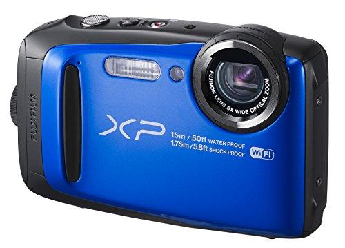 FUJIFILM 富士フィルム デジタルカメラ ファインピックス FinePix XP90 防水 ブルー FX-XP90BL