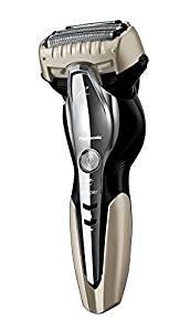 パナソニック ラムダッシュ メンズシェーバー 3枚刃 お風呂剃り可 ゴールド調 ES-ST8N-N