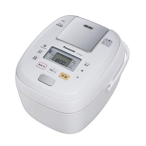 パナソニック 5.5合 炊飯器 圧力IH式 おどり炊き ホワイト SR-PB106-W