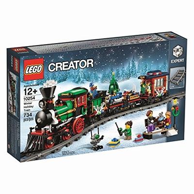 【海外限定 品】LEGO レゴ クリエイター エキスパート ウィンター ホリデイ トレイン Winter Holiday Train 10254 [並行輸入品]
