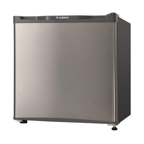 エスキュービズム 1ドア冷凍庫 WFR-1032SL シルバー 32L WFR-1032SL