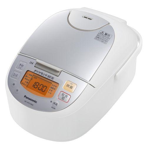パナソニック(Panasonic) IHジャー炊飯器 SR-VFD1060-W シルバーホワイト