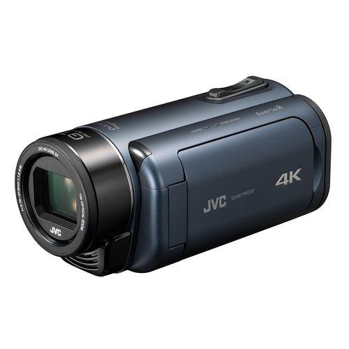 JVCKENWOOD JVC ビデオカメラ Everio R 4K撮影 防水 防塵 ディープオーシャンブルー GZ-RY980-A