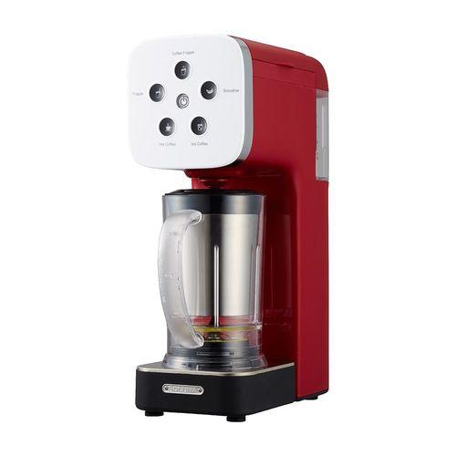 ドウシシャ コーヒーメーカー クワトロチョイス ミキサー機能搭載 レッド QCR-85A RD