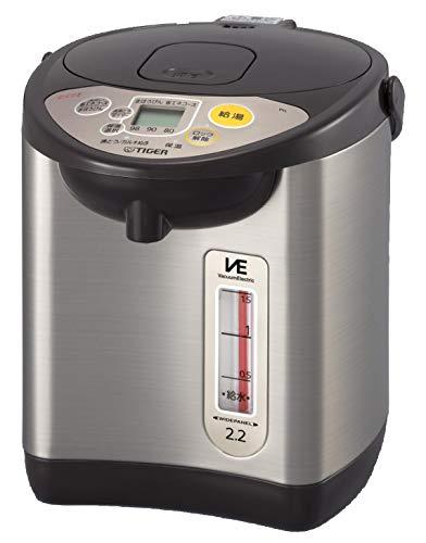 タイガー 電気ポット 2.2L ブラウン 節電 VE 保温 とく子さん PIL-A220-T