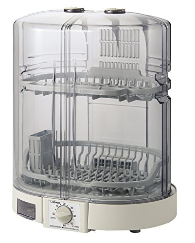 象印 食器乾燥機 縦型 80cmロング排水ホースつき EY-KB50-HA