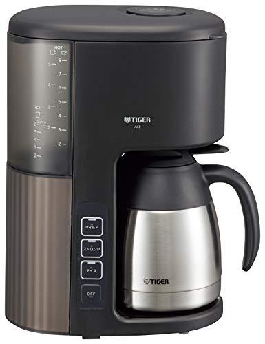 タイガー コーヒーメーカー 8杯用 真空 ステンレス サーバー カフェブラック ACE-S080KQ