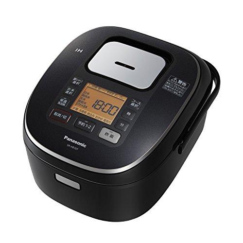 パナソニック 5.5合 炊飯器 IH式 ブラック SR-HB107-K