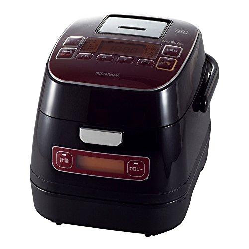 アイリスオーヤマ 炊飯器 3合 IH クッキングヒーター 分離式 銘柄量り炊き カロリー計算機能付き 米屋の旨み RC-IA32-R