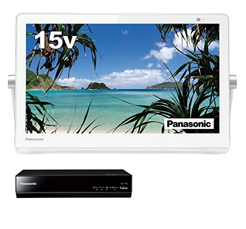 パナソニック 15V型 液晶 テレビ プライベート・ビエラ UN-15T8-W 2018年モデル