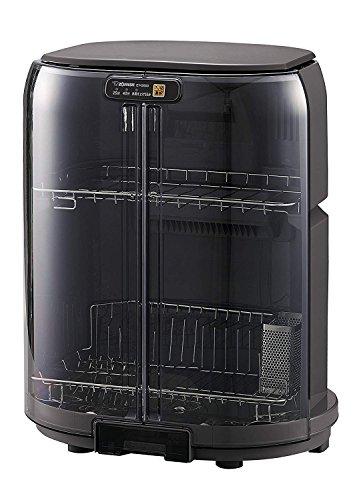 【フラッシュセール 最大1,200円オフクーポン配布中】象印 食器乾燥機 縦型 コンパクト グレー EY-GB50AM-HA