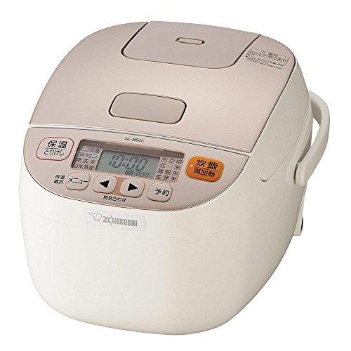 象印 炊飯器 3合 マイコン式 極め炊き シャンパンホワイト NL-BB05AM-WM