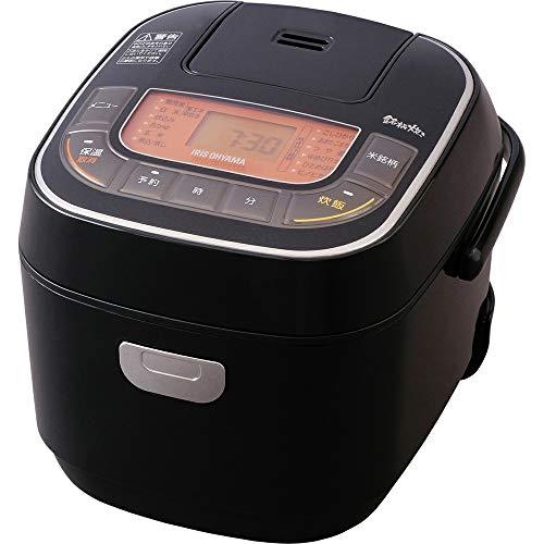 アイリスオーヤマ 炊飯器 マイコン式 3合 銘柄炊き分け機能付き RC-MC30-B