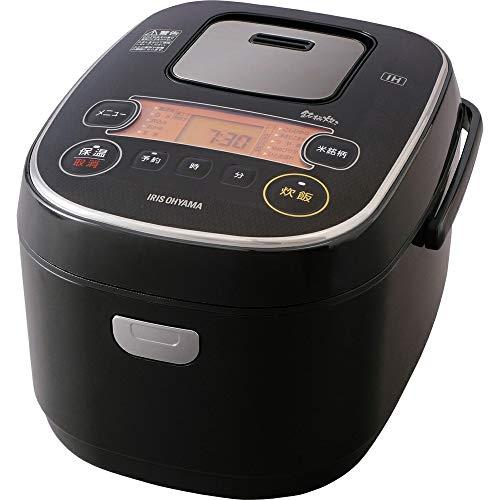 アイリスオーヤマ 炊飯器 IH式 5合 銘柄炊き分け機能付き RC-IE50-B
