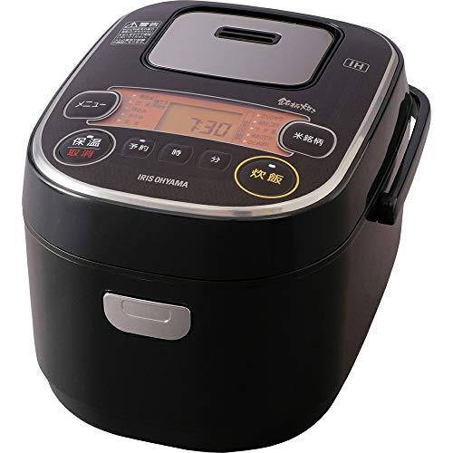 アイリスオーヤマ 炊飯器 IH式 3合 銘柄炊き分け機能付き RC-IE30-B