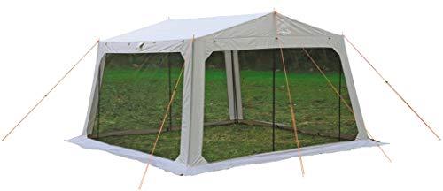 キャプテンスタッグ(CAPTAIN STAG) テント タープ メッシュタープ [4-5人用] 【サイズ310×330×H200cm】 PU加工 キャリーバッグ付き モンテ UA-1076