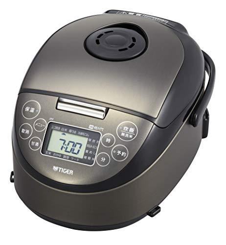 タイガー 炊飯器 IH式 炊きたて 3合 ブラック JPF-N550-K