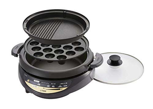 タイガー グリル鍋 3.7L 3枚タイプ 深鍋 CQG-B30N-T