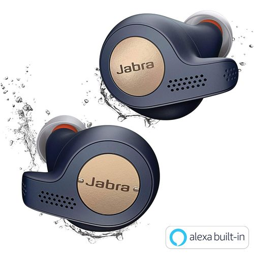 Jabra 完全ワイヤレスイヤホン Elite Active 65t コッパーブルー BT5.0 マイク付 防塵防水IP56