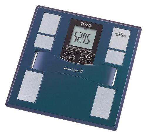 タニタ 体重 体組成計 50g 最薄 日本製 ブルー BC-310 BL