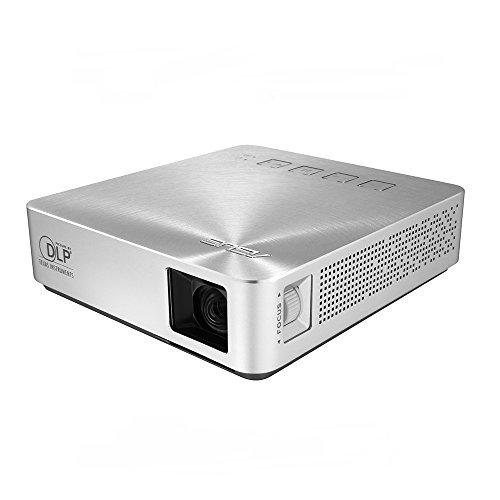 ASUS 小型ミニ プロジェクターS1 ( 軽量342g / 高さ3cm / 200ルーメン / HDMI MHL対応 / 6%カンマ%000mAhバッテリー内蔵 / 投影距離約0.73m / DLP方式 )