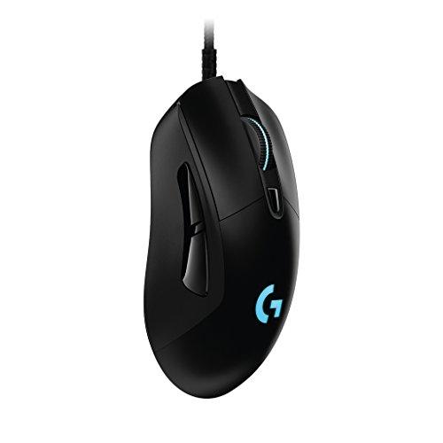 ゲーミングマウス ロジクール G403 エルゴノミクスデザイン DPI切り替えボタン プログラムボタン ウェイト調整
