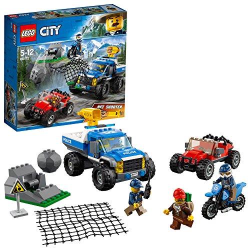 レゴ(LEGO) シティ 山のポリスカーとポリスバイク 60172 おもちゃ 車