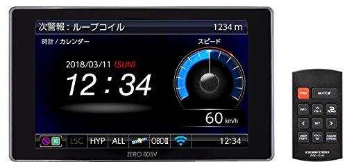 コムテック GPS液晶レーダー探知機 ZERO 805V 無料データ更新 移動式オービス/ゾーン30対応 OBD2接続 ドライブレコーダー連携 COMTEC ZERO805V
