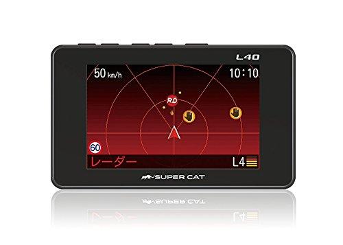 ユピテル レーダー探知機 GPSデータ 14万件以上 小型オービス対応 GPS/一体型/ボタン操作 L40
