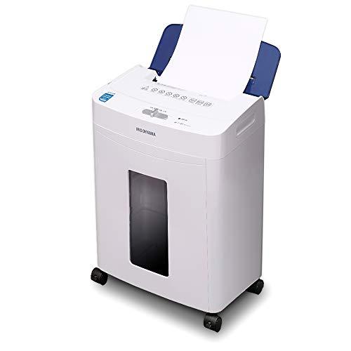アイリスオーヤマ シュレッダー オフィス向け 自動細断機能 細密 マイクロカット 細断枚数 60枚 ブルー AFS60M