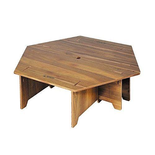 アウトドア テーブル ヘキサセンターテーブル 収納バッグ付き CSクラシックス UP-1040 (CP)