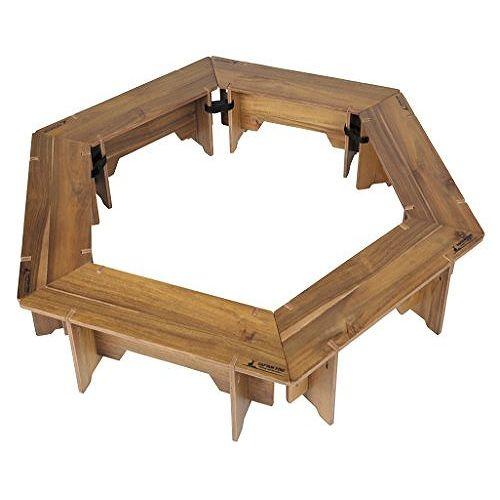 アウトドア テーブル ヘキサグリルテーブルセット 収納バッグ付き CSクラシックス UP-1038 (CP)