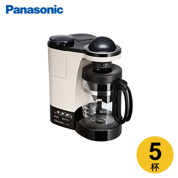 パナソニック 希望者のみラッピング無料 ミル付き浄水コーヒーメーカー 再入荷 予約販売 カフェオレ NC-R400-C