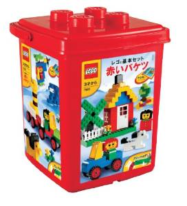 【最大1200円オフ限定クーポン配布中1月11日(金)09:59迄】レゴ 基本セット 赤いバケツ (ブロックはずし付き) 7616