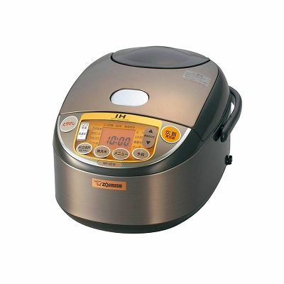 象印 IH炊飯器 5.5合ブラウン NP-VD10-TA