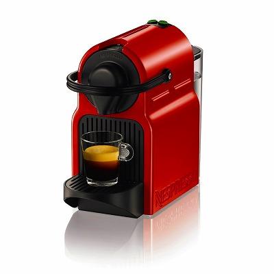【3月5日限定 全商品ポイント3倍】Nespresso Inissia(イニッシア) ルビーレッド C40RE