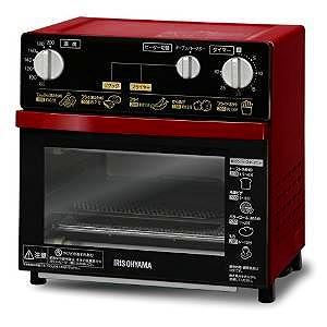 アイリスオーヤマ ノンフライ熱風オーブン 【油で揚げずにサクッと調理】 FVH-D3A-R