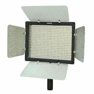 ongnuo 600 LEDビデオライト 600球のLEDを搭載 カメラ&ビデオカメラ用