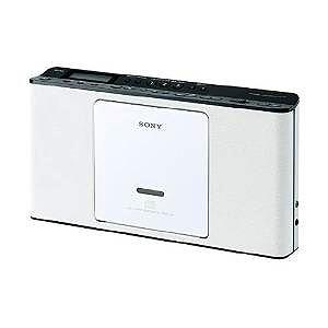 ソニー CDラジオ ホワイトSONY ZS-E80-W