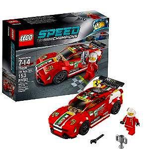 【キャッシュレス5%還元対象】レゴ スピードチャンピオン 458 イタリア GT2 75908