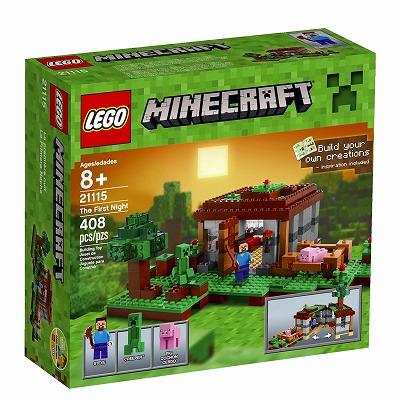 【最大1200円オフ限定クーポン配布中1月11日(金)09:59迄】レゴ マインクラフト グッズ LEGO 21115 The First Night