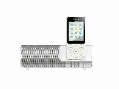 SONY ウォークマン Sシリーズ スピーカー付 8GB ホワイト NW-S784K/W
